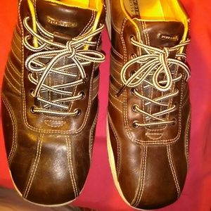 Perry Ellis Men's Brown Relaxed Casual  sz 11 1/2